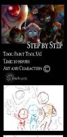 .:The Magic of Christmas - Step by Step:. by Angel-Balance