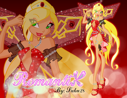 Kokoah RomantiX - wallpaper by Saku28