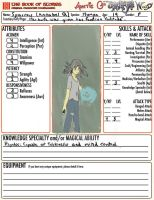 Sparrow Character Sheet by Fantasyfreak18