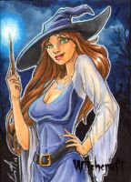 Witchcraft Sketch Card - Eric McConnell 2 by Pernastudios