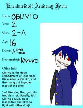 KDA: Oblivio's Profile by ItakkenKendo