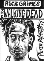 Rick Grimes by PeterPalmiotti