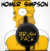 HomerSimpson_brushes set by solenero73