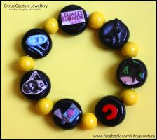 Custom Musicals Bracelet IX by citruscouture