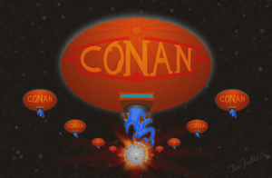 Conan Blimp from 1976 by 1060Chas