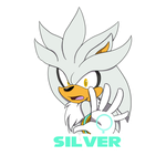 Silver Sticker [SpeedPaint] by PokeGirl150