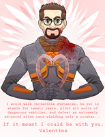 Freeman Valentine by Skellagirl