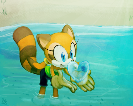 One Hour Sonic- Marine by CatbeeCache