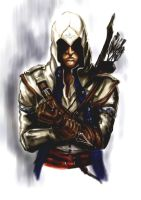 Connor (Assassin's Creed 3) by AnnaBeck