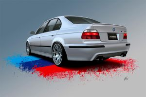 BMW M5 by LindStyling