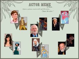 Actor Meme Sequel by Abraal