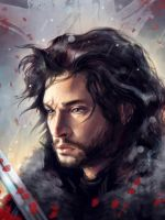 Jon Snow by PolliPo