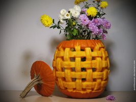 2010 - Flower basket by PunkBouncer