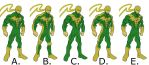 Costume for Iron Fist by Leonidas666