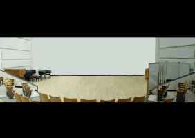 Panoramic of the Music Hall by SonicHomeboy