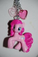 Pinkie Pie necklace by Coall