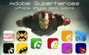 Adobe Superheroes by BiblicalShower