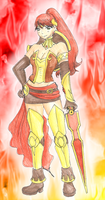 Pyrrha Nikos by CandySkitty