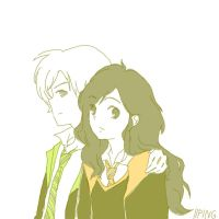 Dramione by iiping
