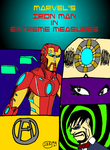 Iron Man Extreme Measures Cover by jddishmonart