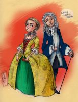 1690's peeps by kayananas
