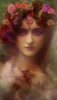 Violets and Emeralds by Bohemiart