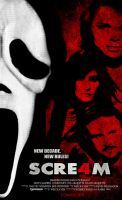 Scream4ConceptPosterV.1 by Mr-Rabba