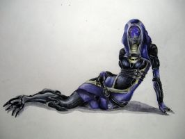 Tali'Zorah vas Normandy by Meariku