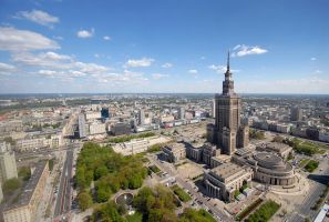 The tallest building in Poland by Mario666x