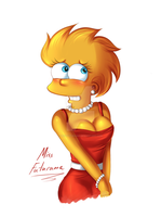 Confused Lisa by MissFuturama