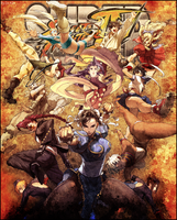 Super Street Fighter IV V2 by silvers-azz