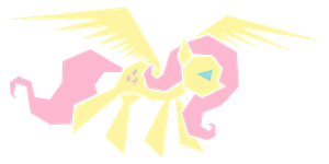 Polygonal - Fluttershy by flamevulture17