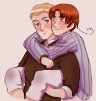 APH -GerIta fluff by MariaJHB
