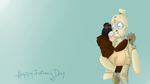 1 n Maia: Happy Fathers Day by theREDspy