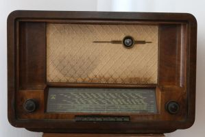 Old radio Stock 03 by Malleni-Stock