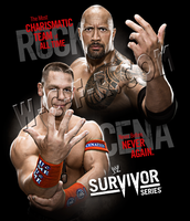 WWE Survivor Series 11 Poster by windows8osx