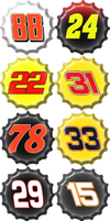 2011 Daytona 500 Line-Up by NASCAR-Caps