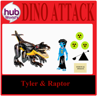 Tyler Action Figure (Dino Attack) by Hubfanlover678