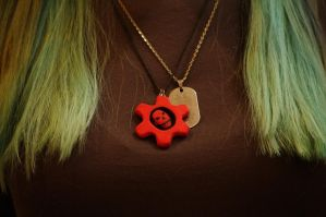 Gears of War dogtag by lAmikol