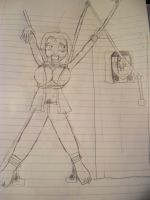 tsunade in a...situation by yihit