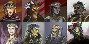 TES avatars set by DarianKite