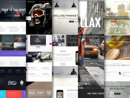 10 Best WordPress Themes Using The Parallax Effect by CursiveQ-Designs