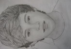 Niall Horan Drawing by 1ddrawings