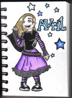 Avril Lavigne by KittyNamedAlly
