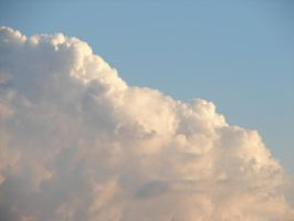Wild Blue Yonder Sky Clouds 31 by FantasyStock