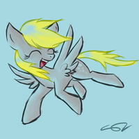 Derpy by ShadowTheZoroark