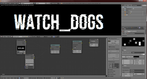 Watch Dogs style text with Blender ! (tutorial) by lcq92