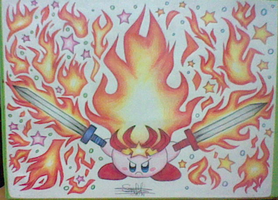 :Kirby: Monster Flame - Blaze through the Night by Plucky-Nova