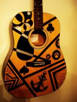 Graphic guitar by wagn18