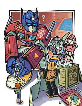 Hurry Prime. by Gashi-gashi